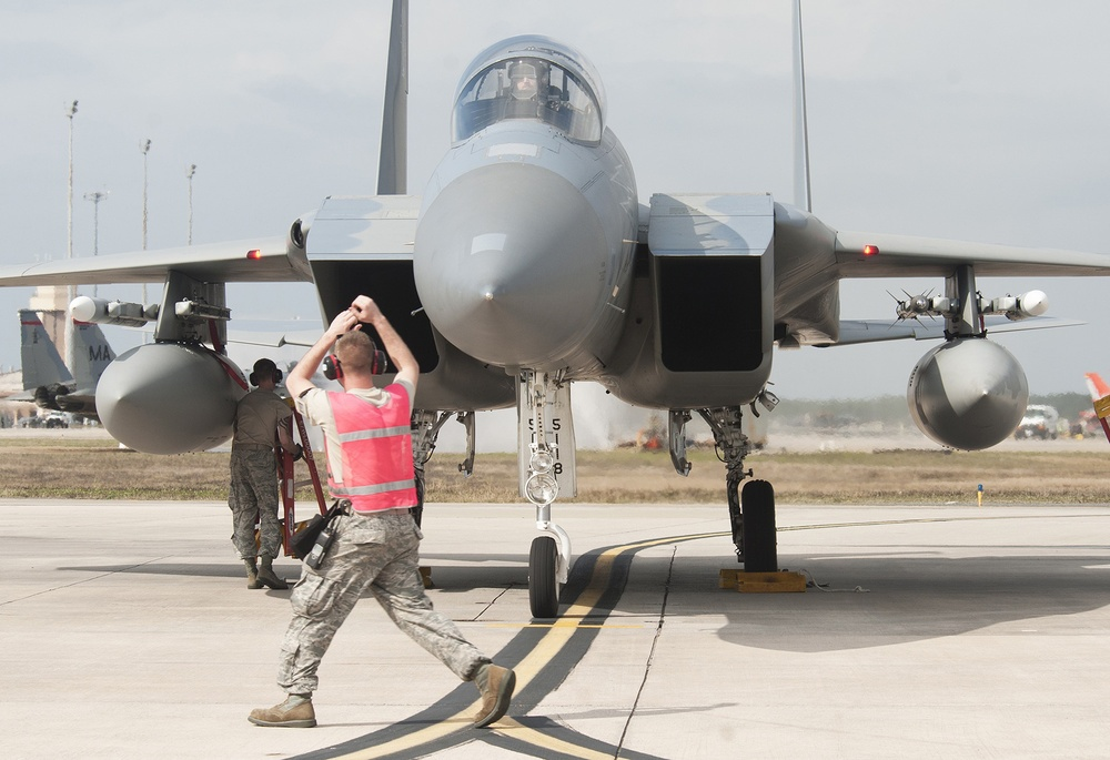 Eagles on Target at United States Air Force's Weapons Systems Evaluation Program