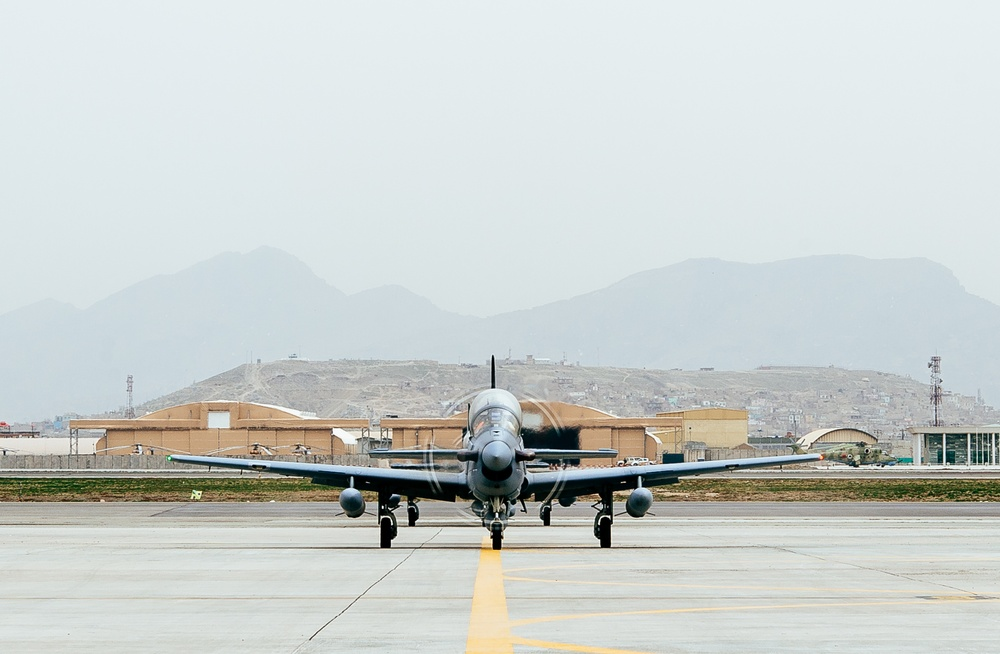 Additinonal A-29s arrive at Kabul in time for fighting season