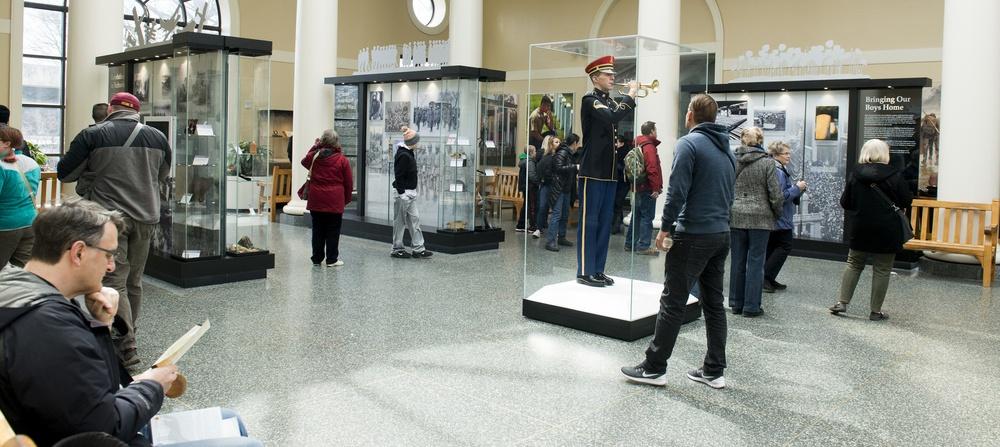 World War I exhibit at Arlington National Cemetery