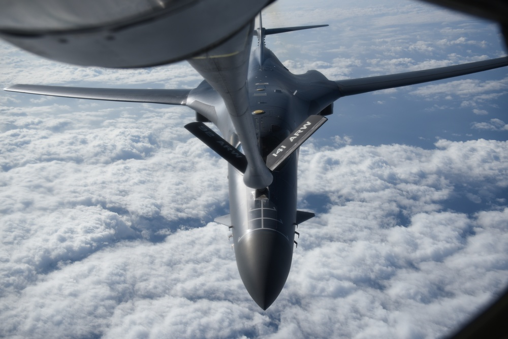 KC-135 Stratotanker supports Continuous Bomber Presence