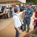 CP-17 Medical OIC Speaks with Colombian News Reporters at CP-17 Medical Site