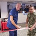 Admiral Harris Attends JIATF West's New Watch Center Ribbon Cutting Ceremony
