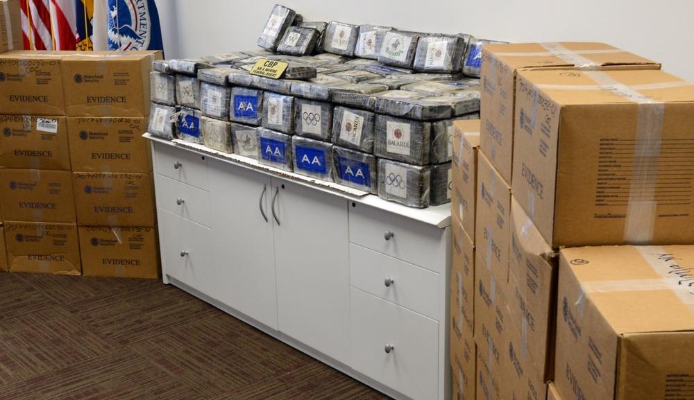 Coast Guard, DHS partner agencies nab 4 smugglers, seize 1,608 kilograms of cocaine off Puerto Rico