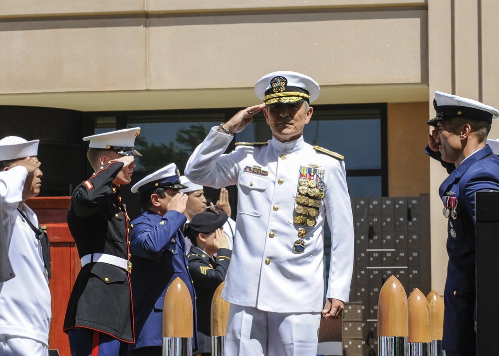 Change of Command at Joint Interagency Task Force West