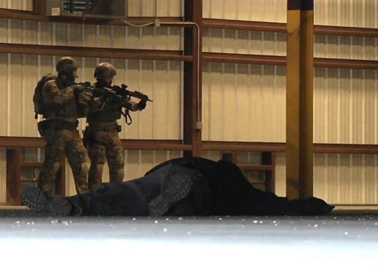 FBI SWAT comes to train