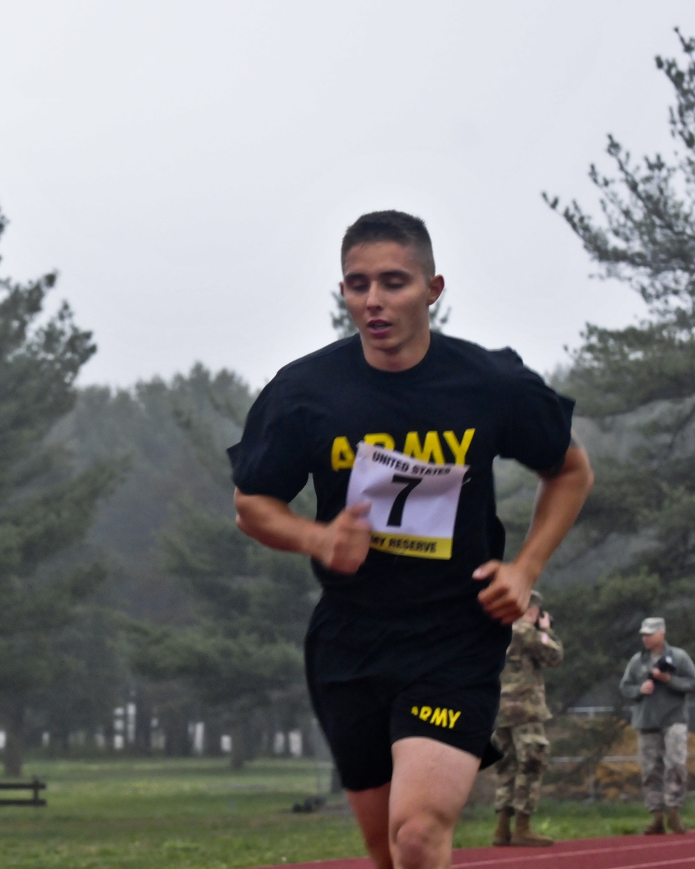 Combined Best Warrior Competition 2017 APFT