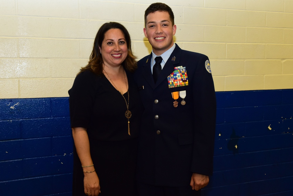 Randolph High School Junior ROTC activates