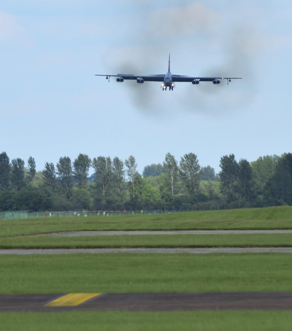 U.S. bomber mission underway in European theatre