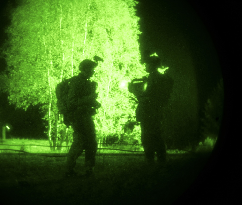 Navy SEALs conduct training at Flaming Sword 17 in Lithuania