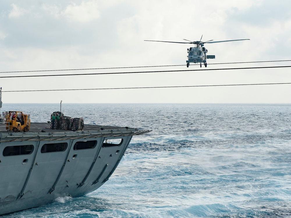 GHWB is the flagship of Carrier Strike Group (CSG) 2, which is comprised of the staff of CSG-2; GHWB; the nine squadrons and staff of Carrier Air Wing (CVW) 8; Destroyer Squadron (DESRON) 22 staff and guided-missile destroyers USS Laboon (DDG 58) and USS