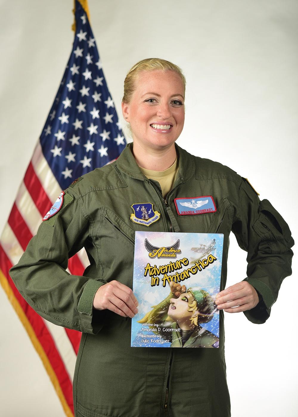 LC-130 navigator shares her experiences in Antarctica through children's book