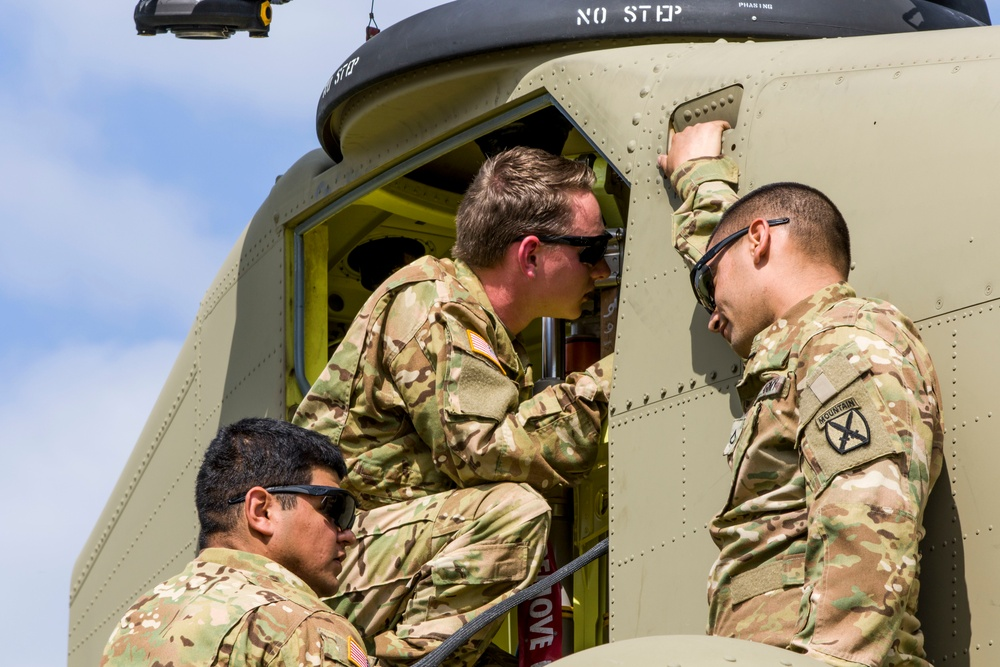 Aviation repairers ensure 10th CAB's readiness is always maintained