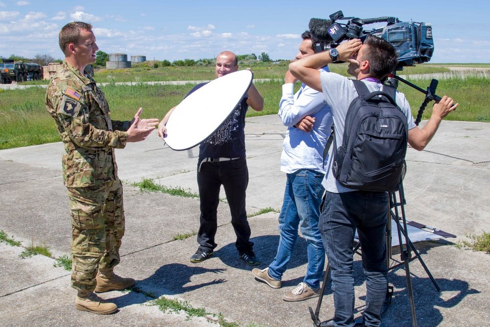 10th CAB Soldiers featured in Romanian news story on success in Atlantic Resolve