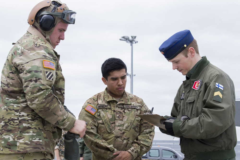 10th CAB refuelers help Finnish Air Force get off the ground in Latvia