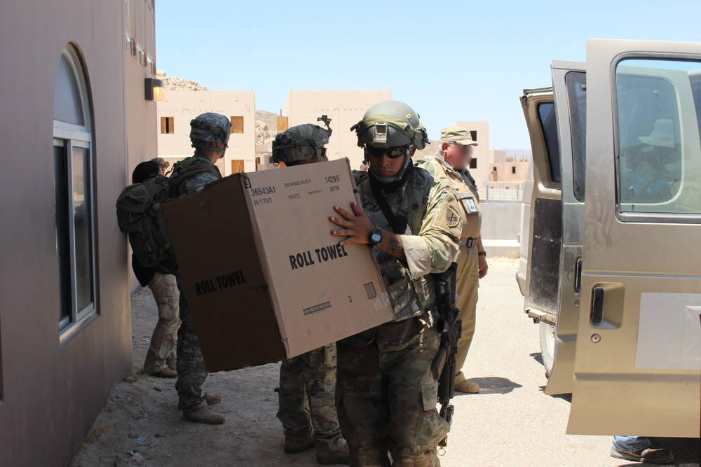 Civil Affairs Assists in Humanitarian Aid
