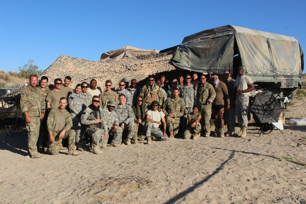 CA/PSYOP Work Together for Training at NTC