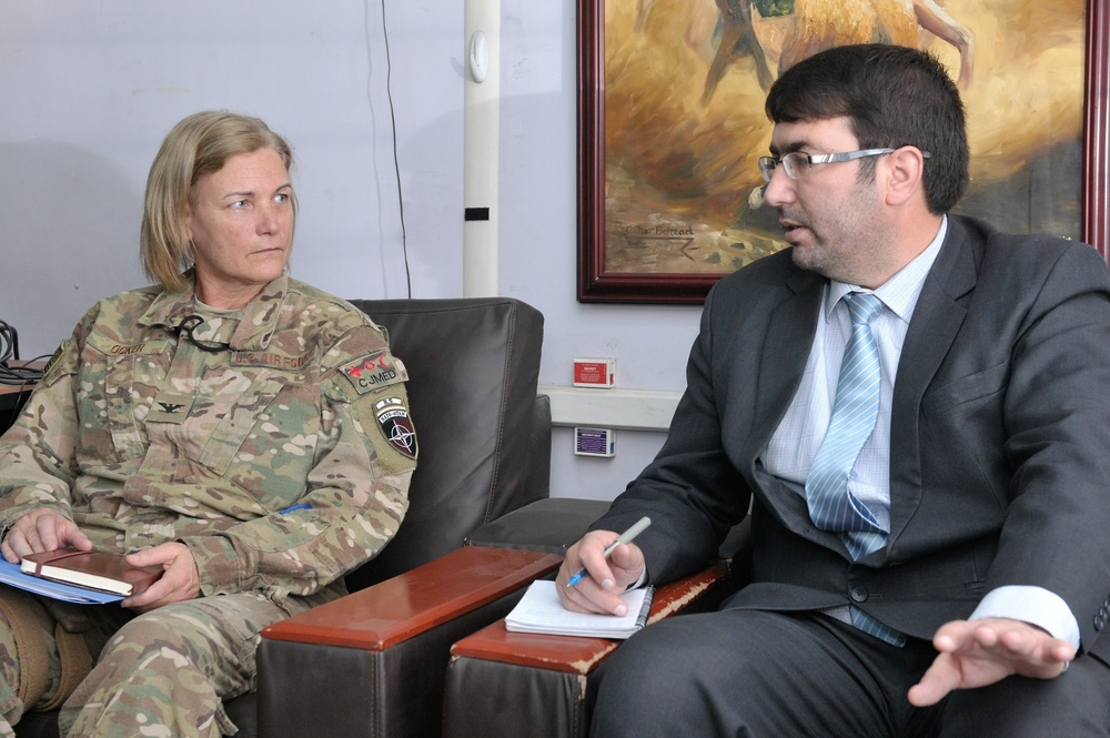 Resolute Support trains its people, improving advisor training