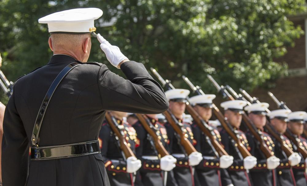 Lt. Gen. Jon M. Davis Retirement Ceremony