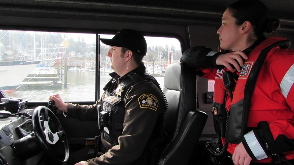 Coast Guard/Clatsop County Sheriff Office boardings