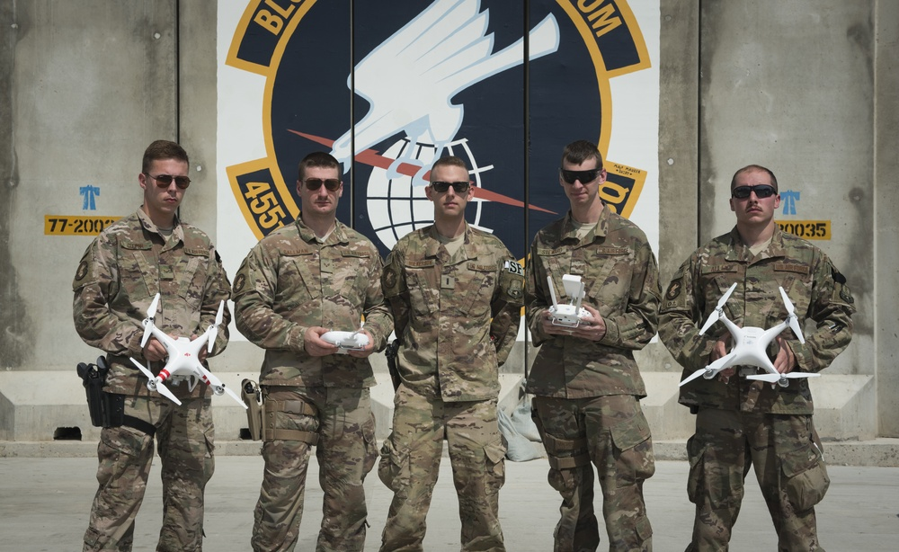 Researcher, Defenders bring new counter-UAS program to BAF