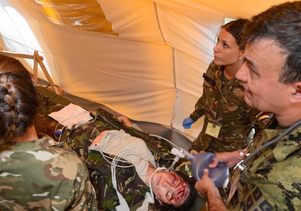 Balkan Medical Task Force joins Saber Guardian 17