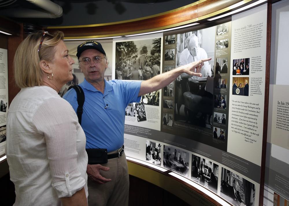 Ship's Sponsor Tours Memorial Room