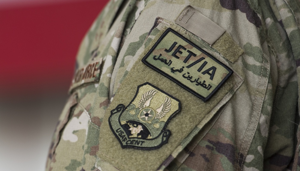 JET/IA Airmen support partners, Afghanistan