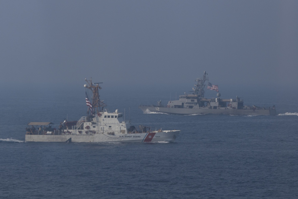 1st TSC participates in Navy trilateral
