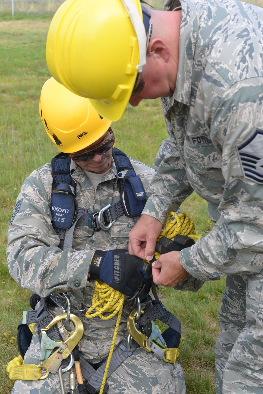 Tower Rescue Training - 243rd EIS