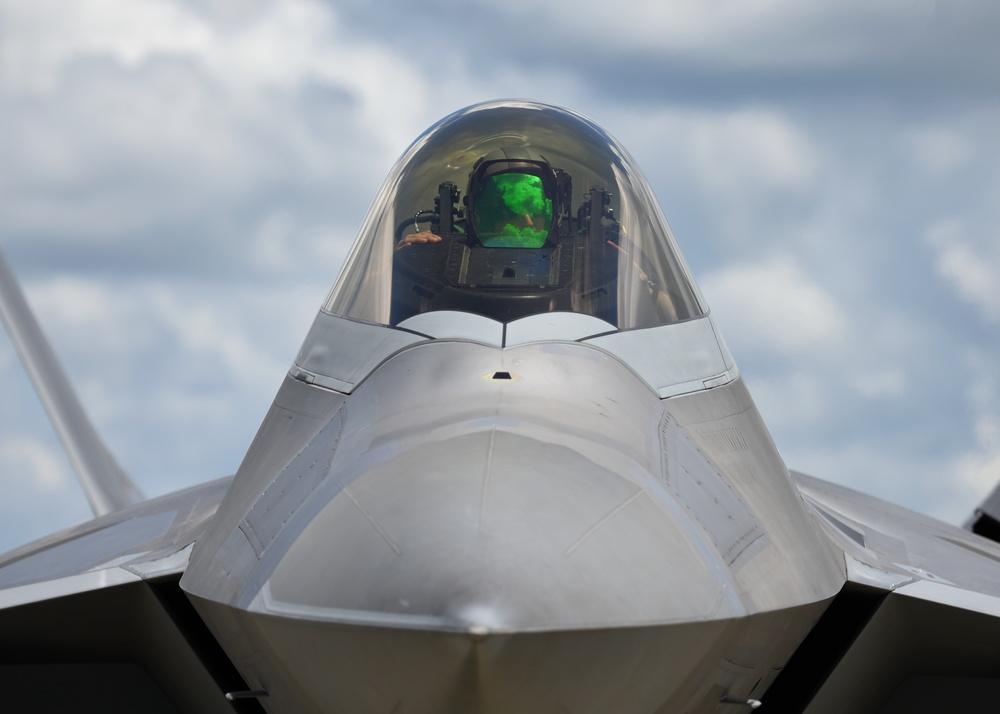 Stealth Guardian includes FARP, F-22 Raptor