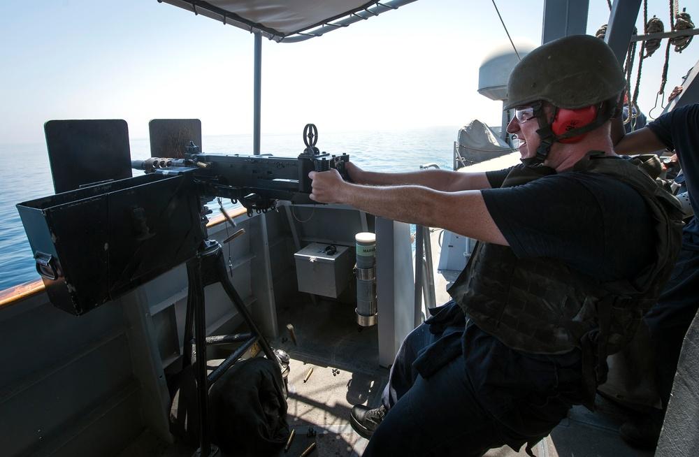 USS Hurricane Gun Shoot
