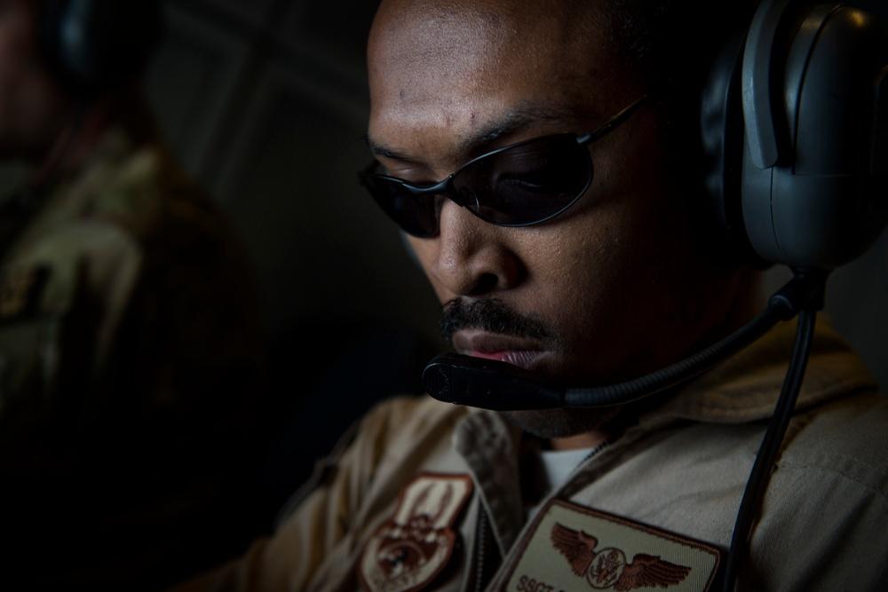 KC-10 refuels U.S, coalition aircraft