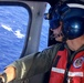 Coast Guard MH-65 Dolphin helicopter crew searches for Army aviators off Oahu