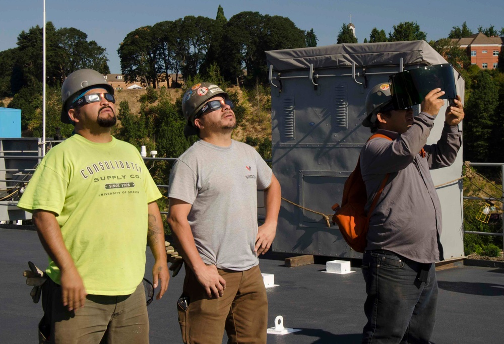 'Coming Together To Watch Something Bigger Than Themselves,' Frank Cable Experiences Solar Eclipse