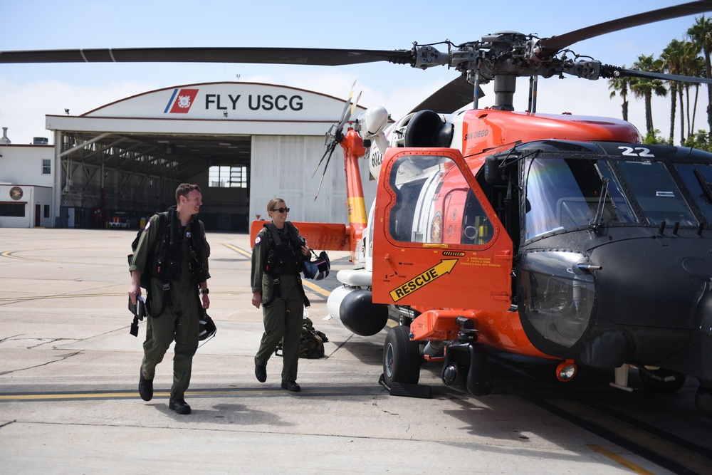 San Diego Coast Guard crew deploys to Texas ahead of Hurricane Harvey