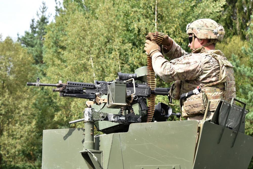 1-503 Inf Reg qualifying M240