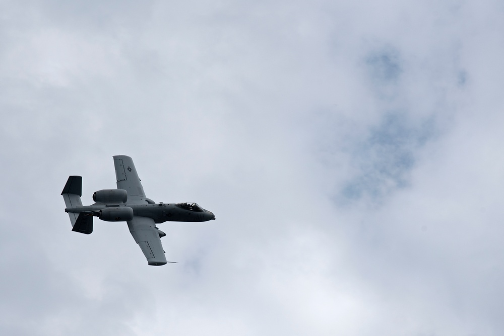 175th Wing A-10s Participates in Operation Heatwave