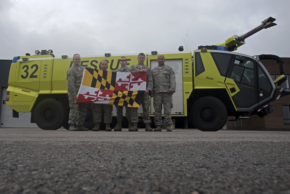 175th Wing Firefighters Deploy to Estonia