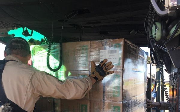 CBP Air and Marine Operations Supply Delivery