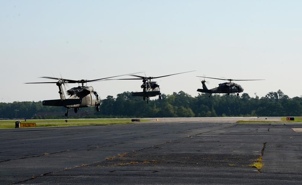 Virginia flight crews head for Texas
