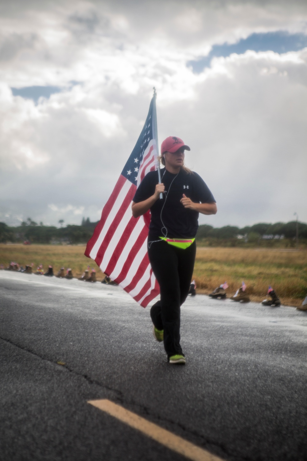 Running for the fallen; Fisher House hosts Hero and Remembrance Run, Walk or Roll