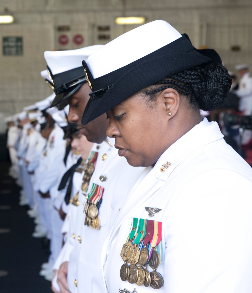 GERALD R. FORD COMMISSIONING