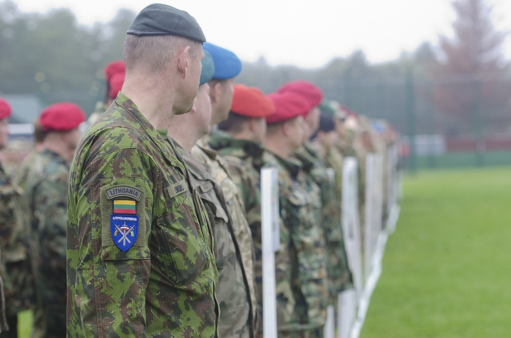 International Forces wrap up Rapid Trident 17