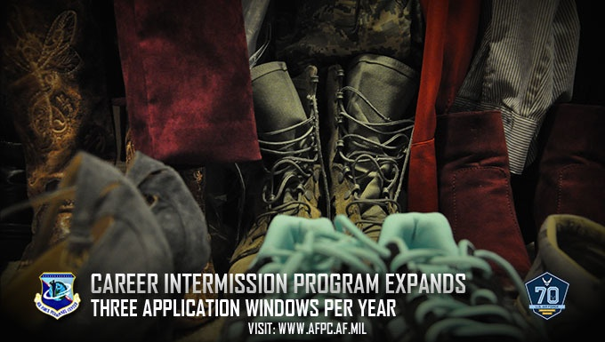 Air Force expands Career Intermission Program opportunities