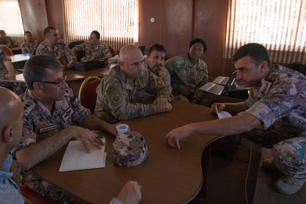 1st TSC, Jordan Armed Forces strengthen partnership through logistics training