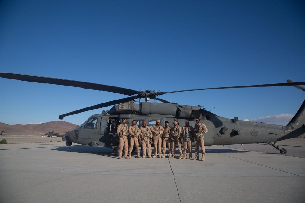 UAE, U.S. aviators train at the National Training Center