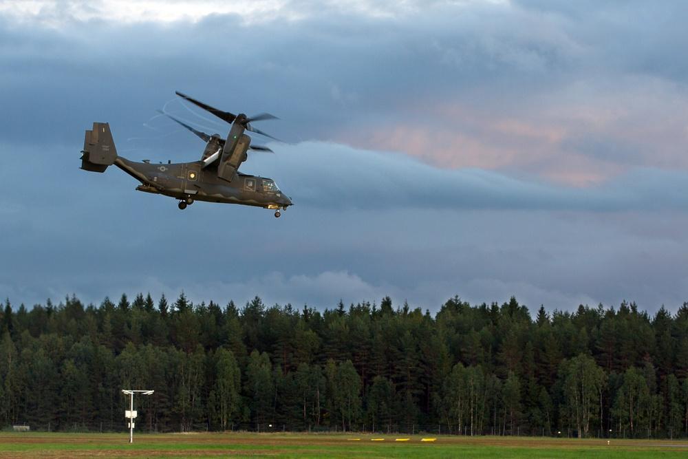 U.S. Special Operations participates in Aurora 17