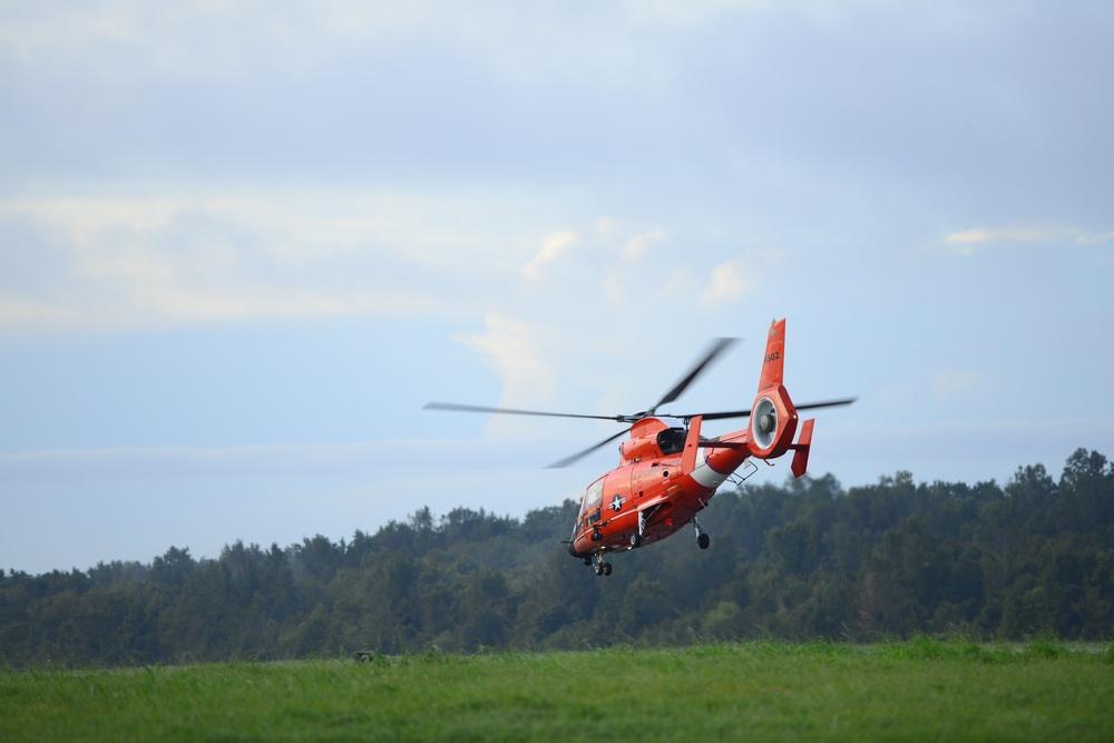 Coast Guard responds to Hurricane Nate