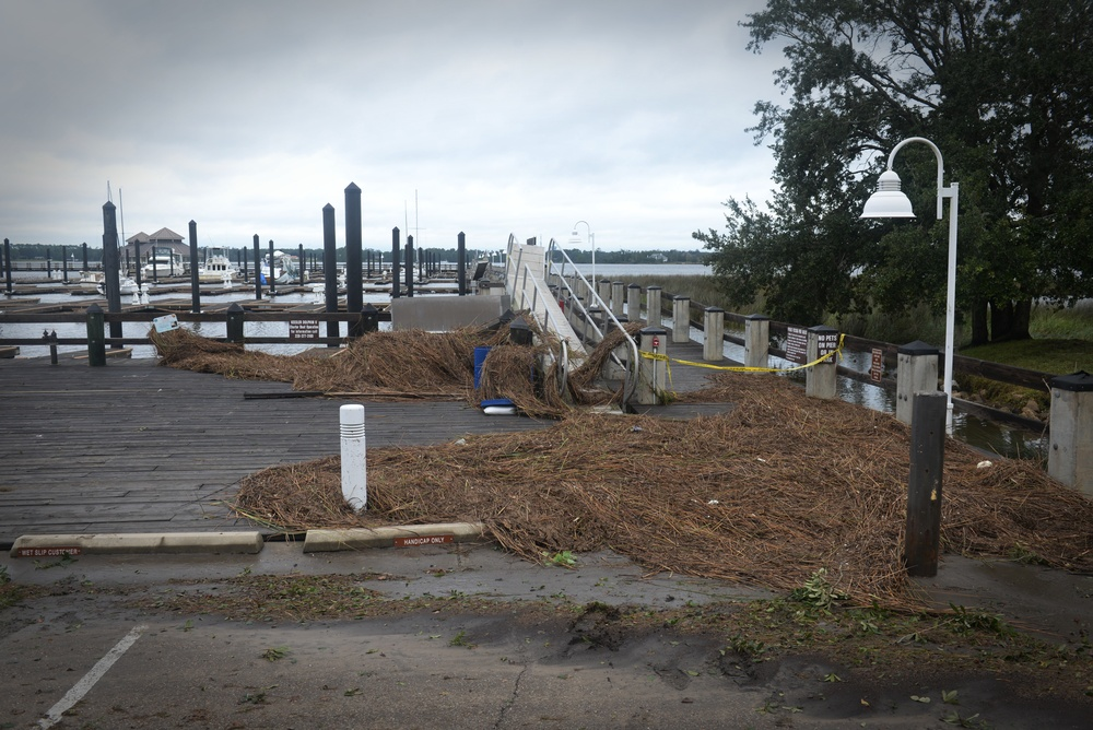 Keesler AFB recovers from Hurricane Nate
