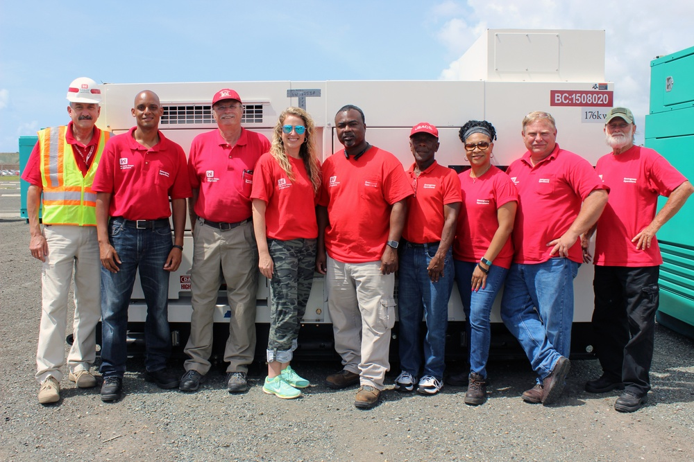 Emergency Power Planning and Response Team members at the ISB